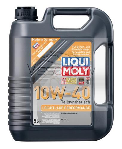 LIQUI MOLY LEICHTLAUF PERFORMANCE 10w40 1L Motoreļļa