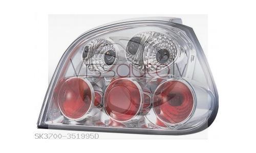 RENAULT MEGANE 99-> Luktura tips:Aizmugurējie lukturi  attēls