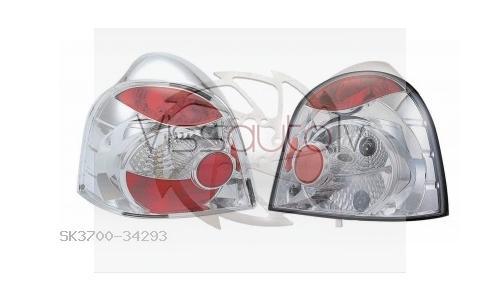 RENAULT TWINGO 93->98 Luktura tips:Aizmugurējie lukturi  attēls