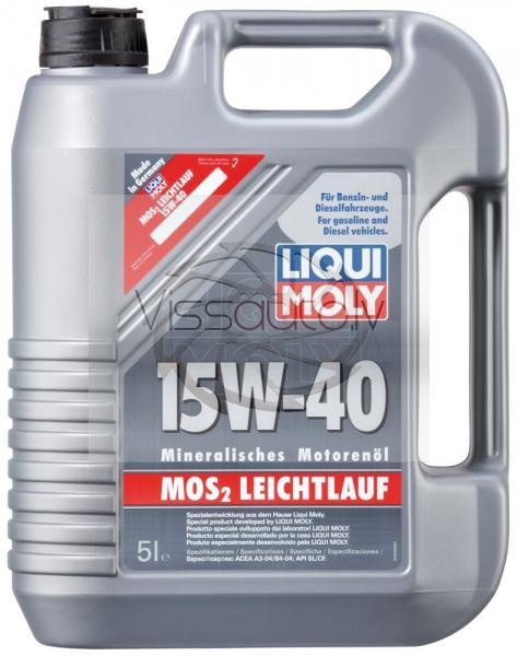 LIQUI MOLY MOS2 LEICHTLAUF 15w40 1L Motoreļļa