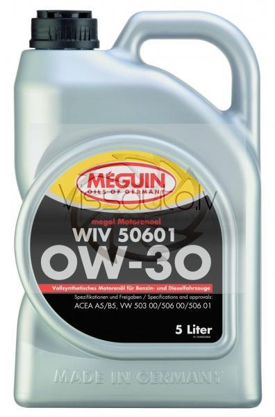 MEGUIN WIV 50601 0w30 1L Motoreļļa