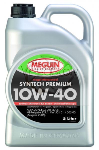 MEGUIN SYNTECH PREMIUM 10w40 1L Motoreļļa