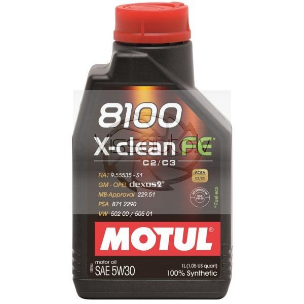 MOTUL 8100 X-CLEAN FE 5w30 1L Motoreļļa