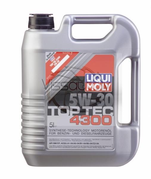LIQUI MOLY TOP TEC 4300 5w30 1L Motoreļļa