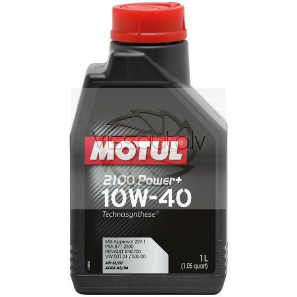 MOTUL 2100 POWER PLUS 10w40 1L Motoreļļa
